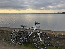 Bike At Draycote Water